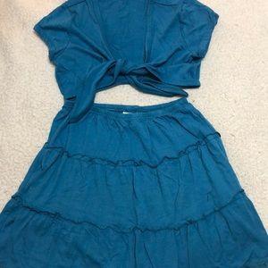 Kids, Xhilaration turquoise girls outfit